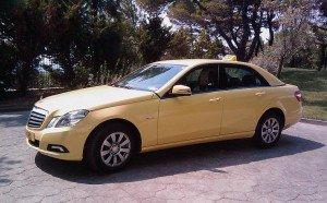 Taxi Mercedes E-Class