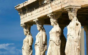 The Karyatids at Acropolis