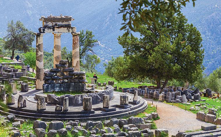The Tholos, Delphi Tours